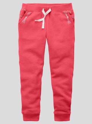 Pantalón Niña 2 A 5 Años Carter's,Granate,hi-res