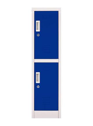 Locker Office Mini Llaves Azul 2 Puertas 28x50x114 cm Maletek,,hi-res