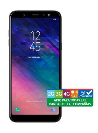 Smartphone Samsung Galaxy A6+ Negro Liberado,,hi-res