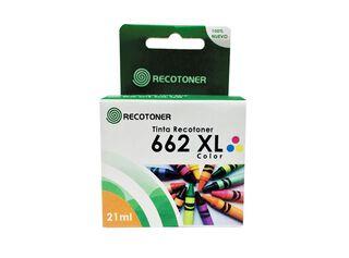Tinta Recotoner Tipo HP 662XL Tricolor,,hi-res