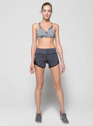 Short Running Maaji Fitness Franjas Mujer,Diseño 1,hi-res