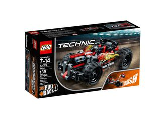 Lego Technic Crash Rojo,,hi-res