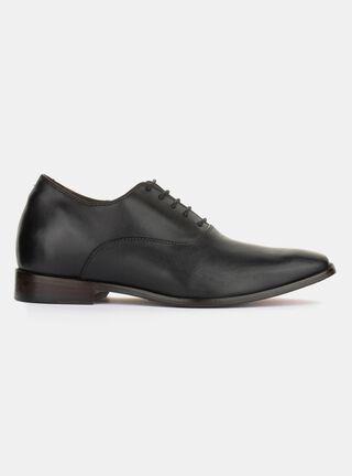 Zapato Max Denegri +7cm Elegant Black Vestir,Negro,hi-res