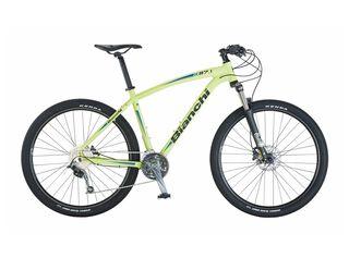 Bicicleta MTB Bianchi K27.1 Aro 27.5 Unisex Freno Disco Hidráulico,Azul Petróleo,hi-res