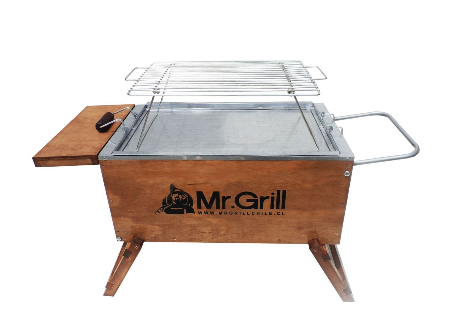 Parrilla Carbón Caja China Mediana Mr.Grill