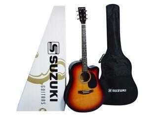 Guitarra Electroacústica Suzuki SDG-2CESB,,hi-res