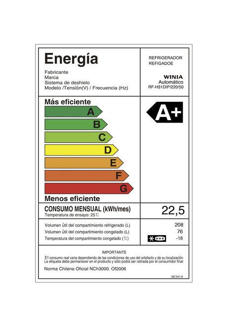Refrigerador%20Winia%20No%20Frost%20284%20Litros%20RF-H31DIP%2C%2Chi-res