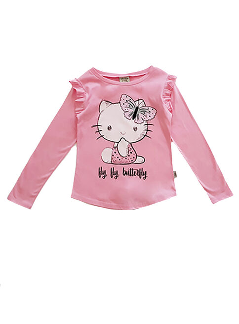 Pijama%20Ni%C3%B1a%20Pink%20Hy%20Hy%20Butterfly%20Hello%20Kitty%2CRose%20Gold%2Chi-res