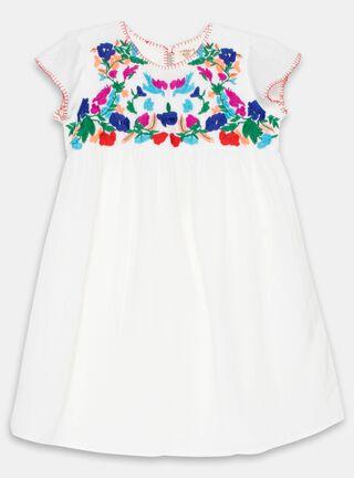 Vestido Umbrale Kids Bordado Floral Niña,Diseño 1,hi-res