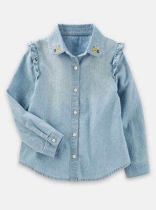 Blusa Niña 2 A 4 Años OshKosh B'Gosh,Azul,hi-res
