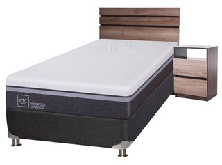 Box Spring Ortopedic Advance 1.5 Plazas + Set Muebles Ares Cic,,hi-res