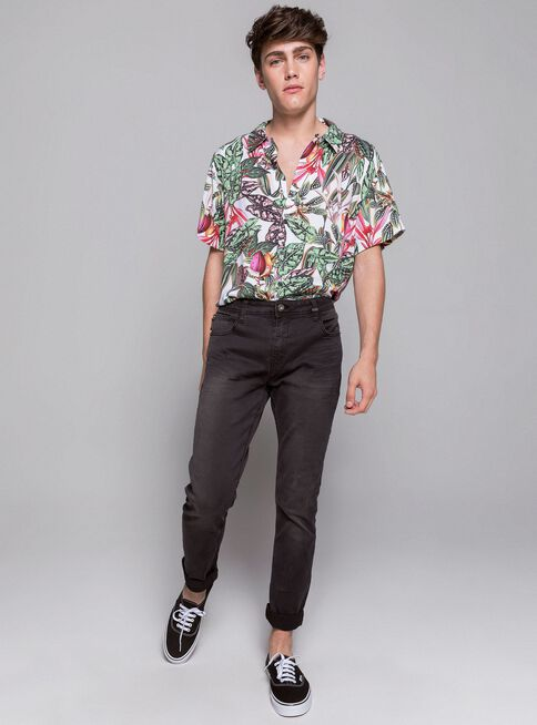 Jeans%20Slim%20Fit%20Roll%20Up%20Ellus%2CNegro%2Chi-res