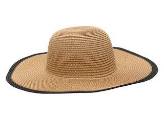 Sombrero Playa Alaniz Borde Mujer,Crema,hi-res
