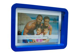 Marco de Fotos Plástico Attimo 10 x 15 cm,Azul,hi-res