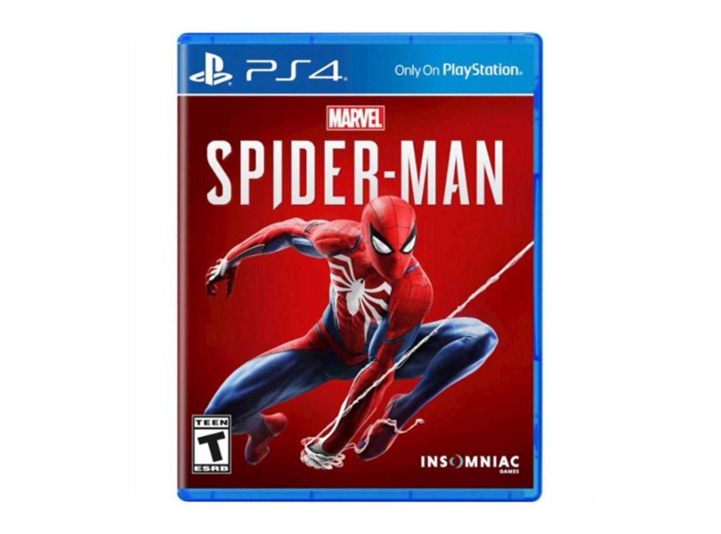 Juego Ps4 Spiderman Juegos Ps4 Y Vr Paris