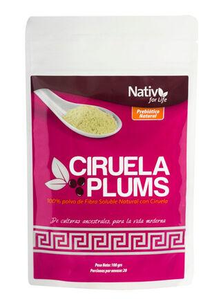 Polvo Ciruela Plums 100 gr Native For Life,,hi-res