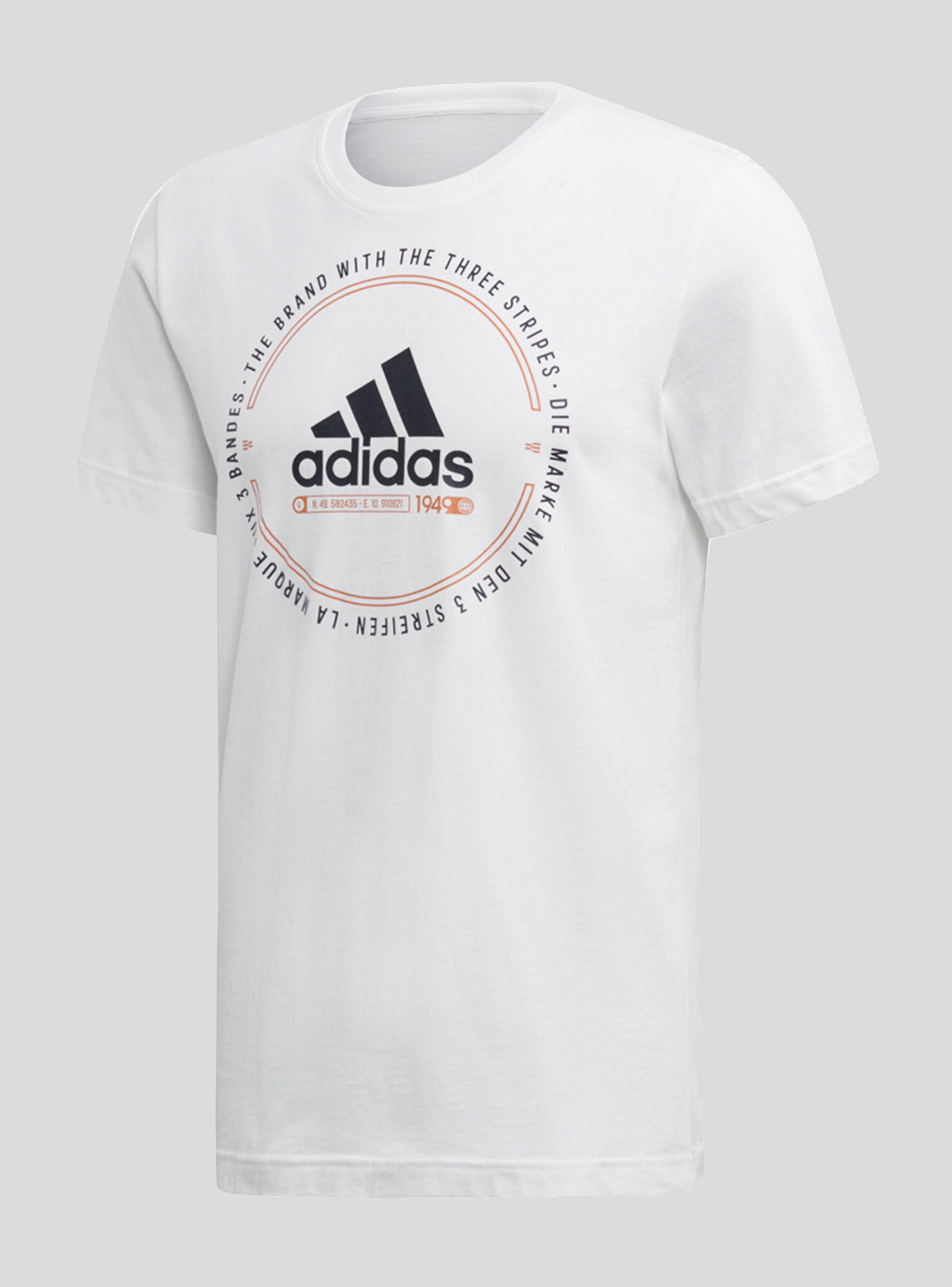 Tee Must Emblem Adidas Polera Hombre Haves Blanco sdxhQrCBt