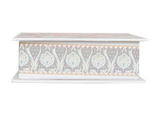 Cajita Papeles Rosado 10 x 10 x 3.4 cm Sarah Miller,,hi-res
