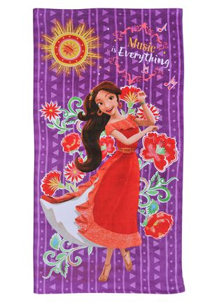 Toalla Playa Disney Elena Avalor Music 70 x 140 cm Licencias Infantiles,,hi-res