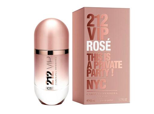 Perfume Carolina Herrera 212 Vip Rosé Edp 50 Ml En Estucheria Paris