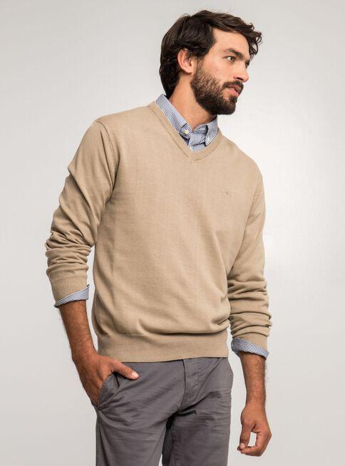 Sweater%20Beige%20Color%20Liso%20Cuello%20V%20Dockers%2CBeige%20Natural%2Chi-res