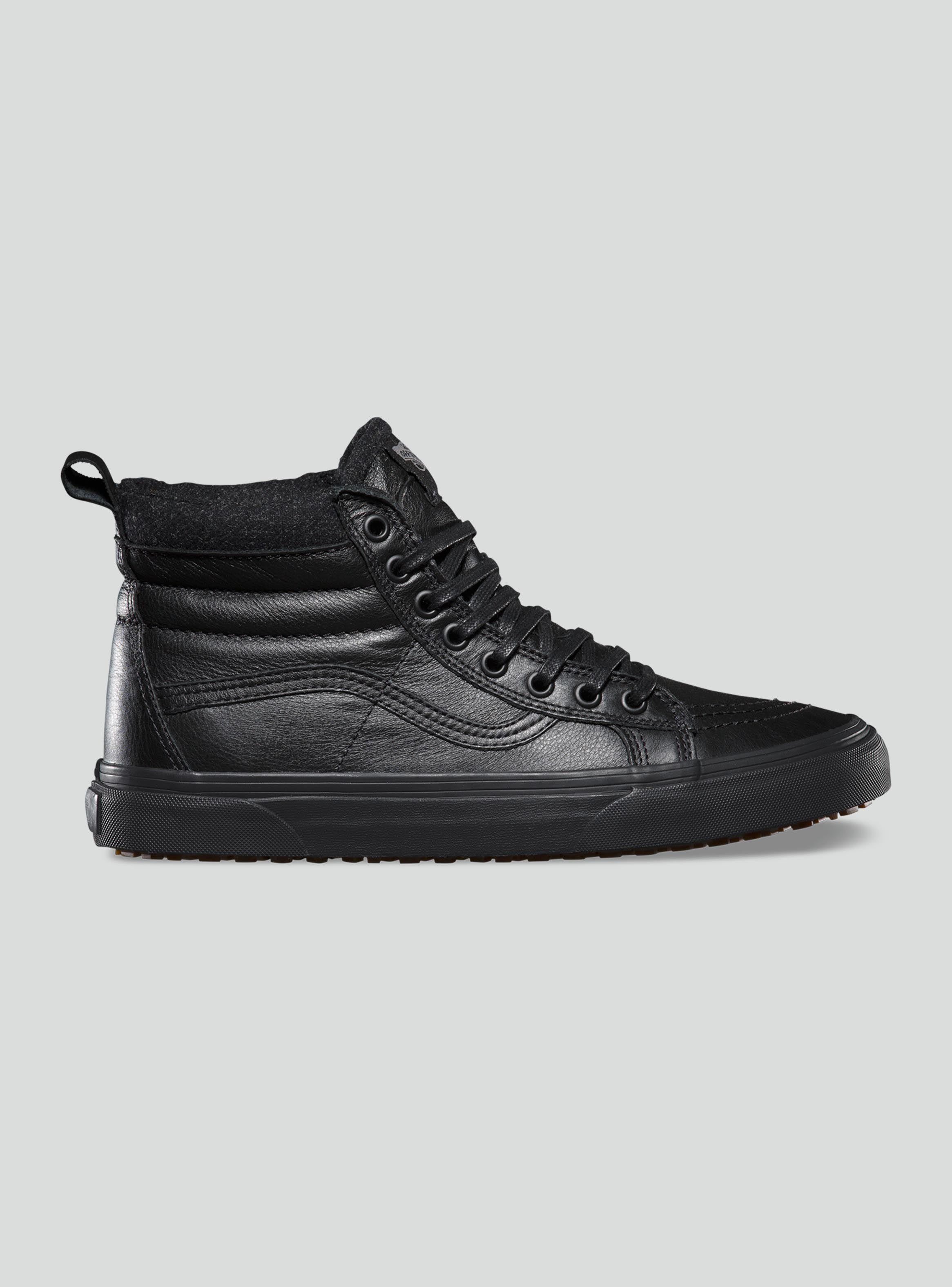 zapatillas vans hombre leather