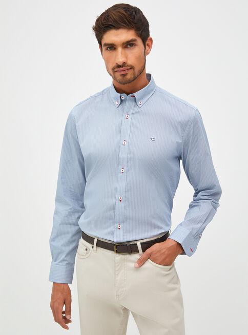 Camisa%20Manga%20Larga%20Print%20Oscar%20de%20La%20Renta%2CAzul%2Chi-res