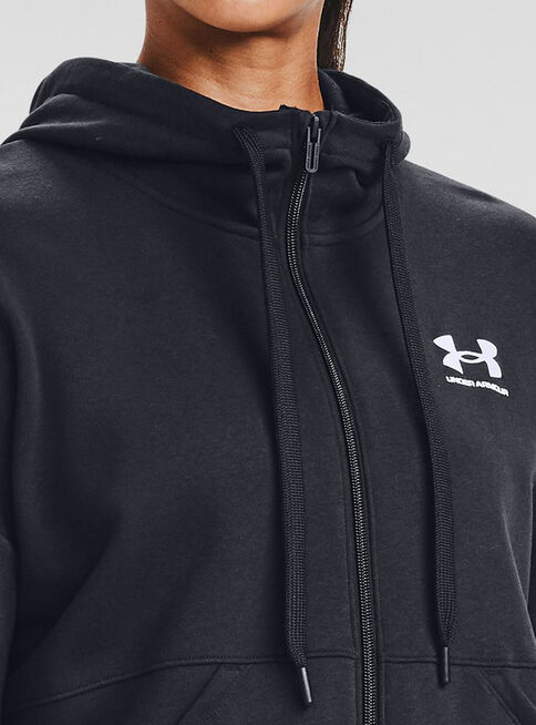 Poler%C3%B3n%20Mujer%20Rival%20Fleece%20FZ%20Hoodie%20Negro%20Under%20Armour%2CNegro%2Chi-res