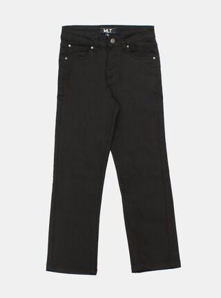 Jeans Melt Básico Niño,Negro,hi-res