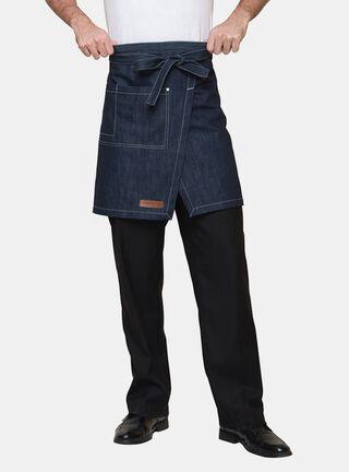 Mandil Jeans Índigo Checked Out,Azul,hi-res