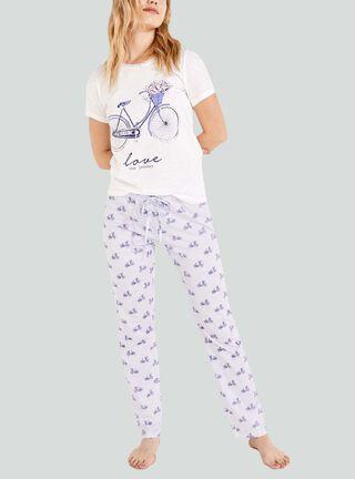 Pijama Bice Women Secret,Camel,hi-res