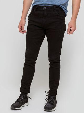 Jeans Liso Negro JJO,Negro,hi-res