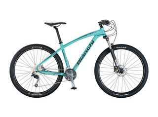 Bicicleta MTB Bianchi K27.1 Aro 27.5 Unisex Freno Disco Hidráulico,Celeste,hi-res