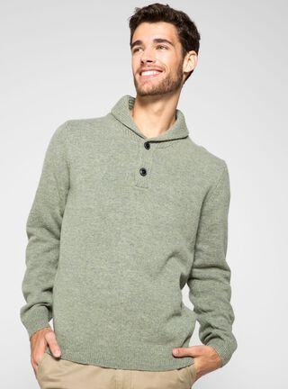 Sweater Cuello Smokin Arrow,Verde Militar,hi-res