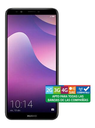 "Smartphone Huawei Y7 2018 5,99"" Negro triangulado Wom,,hi-res"