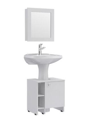 Combos Baño Big Bath Botiquín Espejo + Optimizador Lavamanos 47-A TuHome,,hi-res