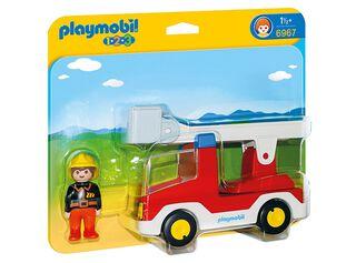 1,2,3 Camión de Bomberos Playmobil,,hi-res