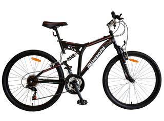 Bicicleta MTB Bianchi Genesis DSX Aro 26 Doble Suspensión,Negro,hi-res