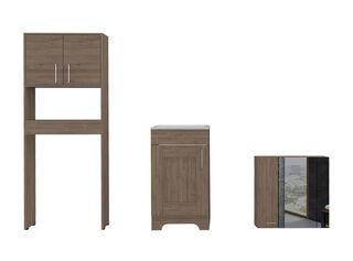 Muebles de Baño: Lavamanos + Baño + Botiquín TuHome,Camel,hi-res