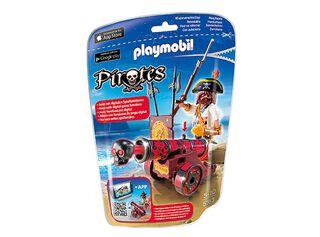Cañón Interactivo Rojo Playmobil,,hi-res