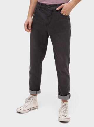 Jeans Skinny Básico Negro Opposite,Negro,hi-res