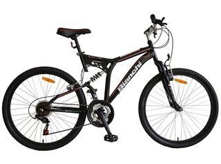 Bicicleta MTB Hombre Bianchi Touring DSX Aro 26 Doble Suspensión,Carbón,hi-res