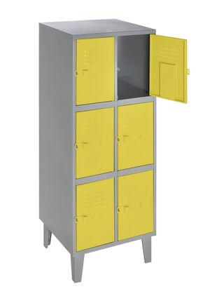 Lockers Vertical Colores 6 Puertas Movilockers,,hi-res