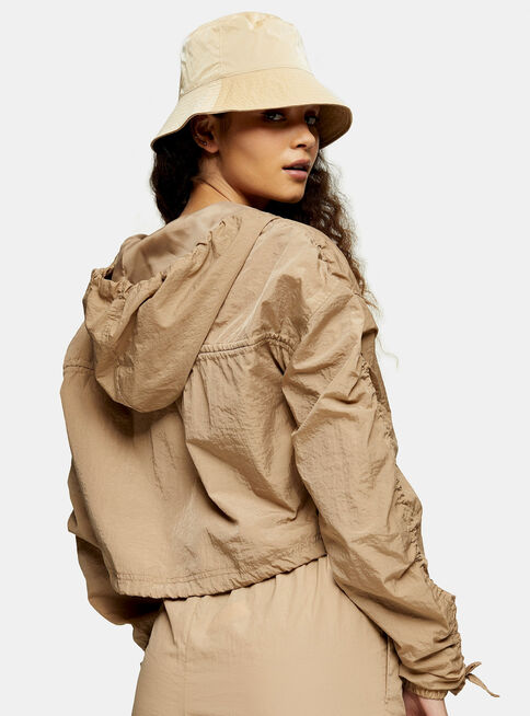 Chaqueta%20Beige%20Shell%20Cropped%20Topshop%2C%C3%9Anico%20Color%2Chi-res