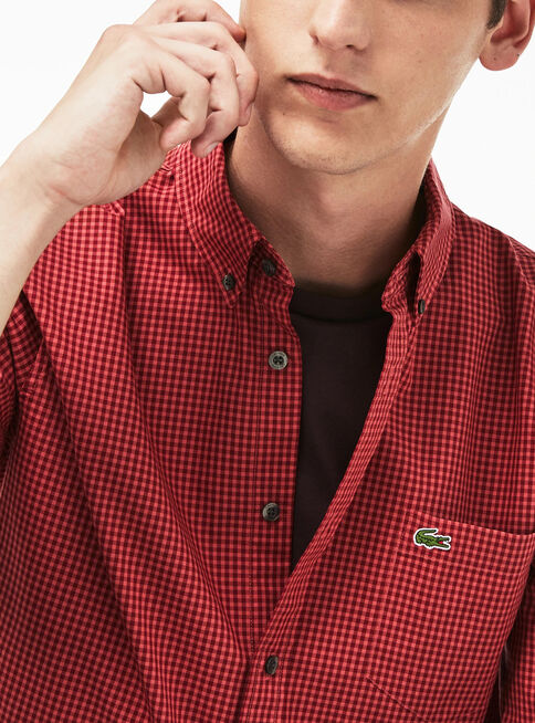 Camisa%20Algod%C3%B3n%20Casual%20Lacoste%2CCaoba%2Chi-res