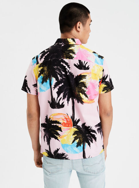 Camisa%20Print%20Manga%20Corta%20Sunset%20American%20Eagle%2CRose%20Gold%2Chi-res