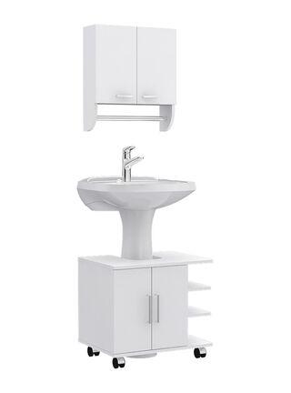 Combos Baño Big Bath Botiquín Mural + Optimizador Lavamanos 2 puertas Attimo,,hi-res