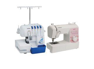 Combo overlock 3534DT + máquina de coser XB2500 Brother,,hi-res