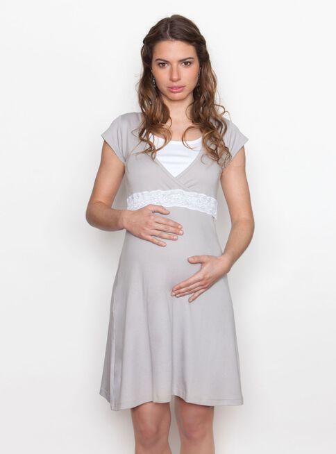 grandes ofertas 2017 estilos frescos código promocional Camisa Maternal de Dormir Encaje Peto Nala Maternity en Pijamas ...