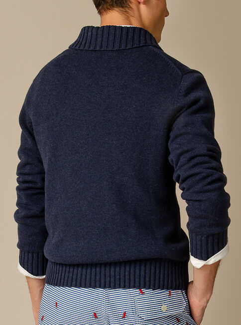 Sweater%20Liso%20Shawl%20Collar%20Pullover%20Cotton%20Dry%20Saville%20Row%2CAzul%20Marino%2Chi-res